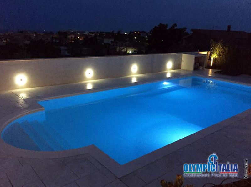 Costruzione piscina Vittoria Siracusa Casa vacanza